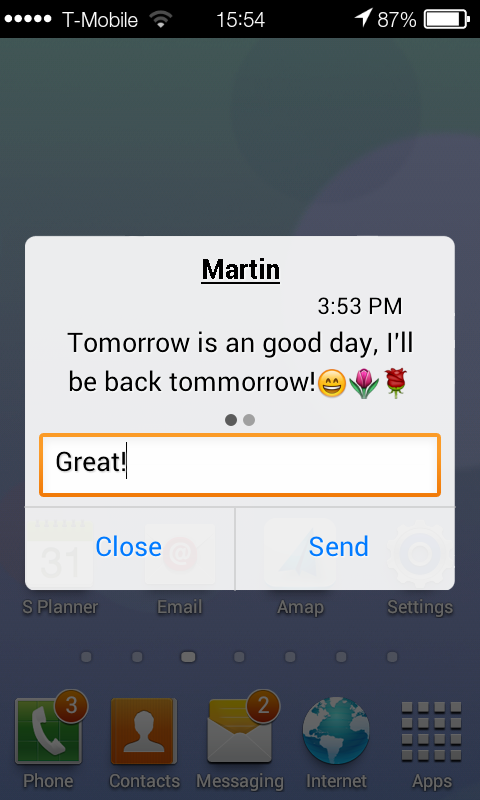 Barley Message 7 - screenshot