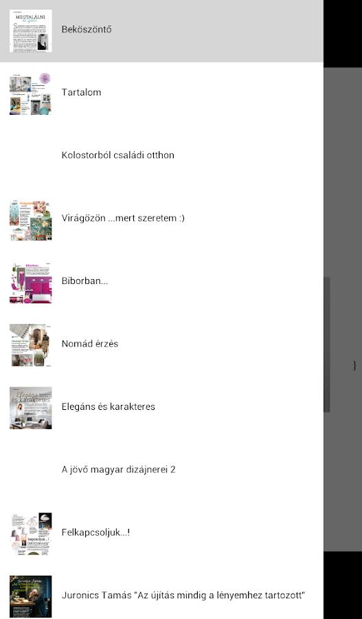 Nők Lapja Enteriőr - screenshot
