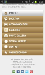 Athens Hotels Info screenshot 1