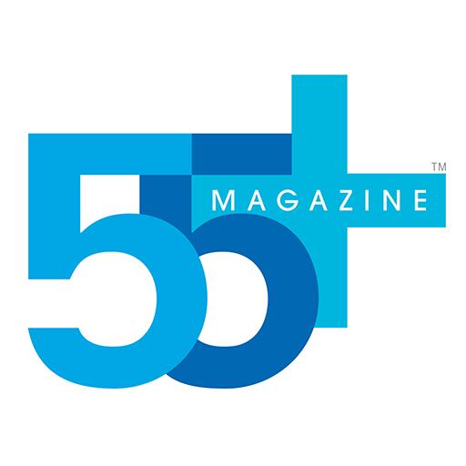 55+ magazine LOGO-APP點子