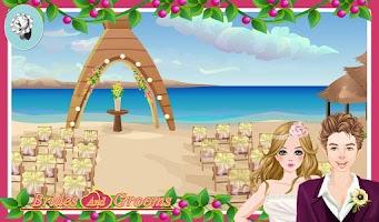 Screenshot of Bride and Groom Wedding games