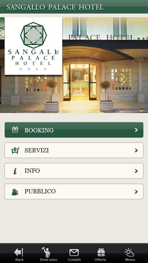 Sangallo Palace Hotel Perugia- screenshot