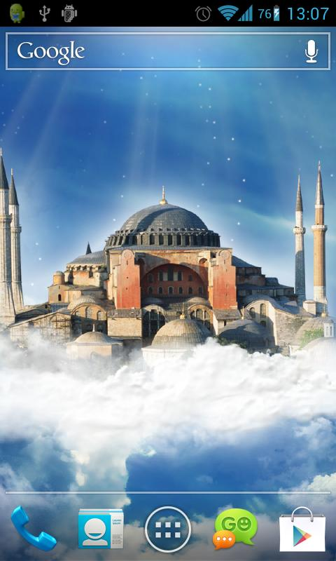 Hagia Sophia Live Wallpaper- screenshot