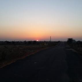 Good evening by Shailesh Chauhan - Landscapes Sunsets & Sunrises