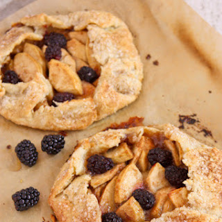 Apple Blackberry Tarts