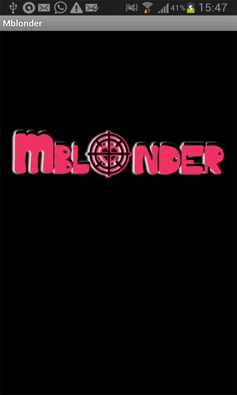Mblonder - screenshot