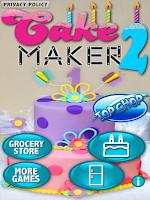 Screenshot of Cake Maker 2