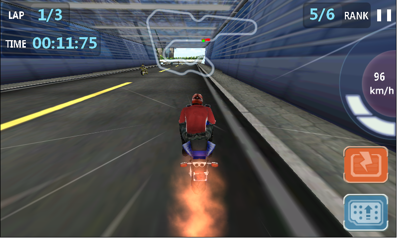 Speed City Moto- screenshot