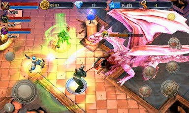 Hra android Dungeon Hunter 3   androidhry akcni hry