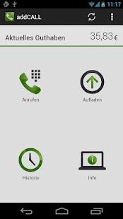 addCALL - Günstig telefonieren - screenshot thumbnail