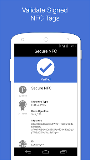 Secure NFC