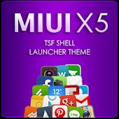 Miui X5 TSF Shell Theme