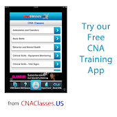 Free CNA Nursing Aide Classes
