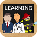 Learn Professions for Kids icon
