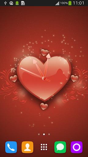 True Love Theme Clock