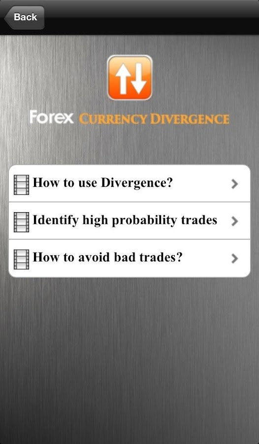 Urban forex divergence