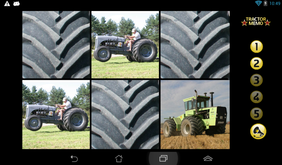 TractorMemo- screenshot
