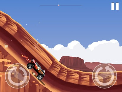 Monster Car Stunts Screenshot