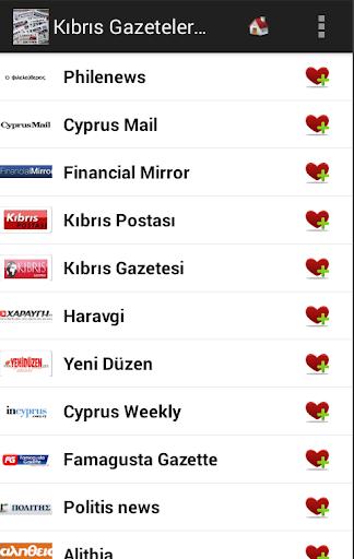 Kıbrıs Gazeteler ve Haberler