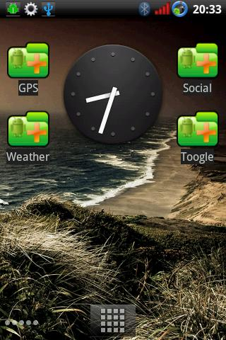 Widget Container - screenshot