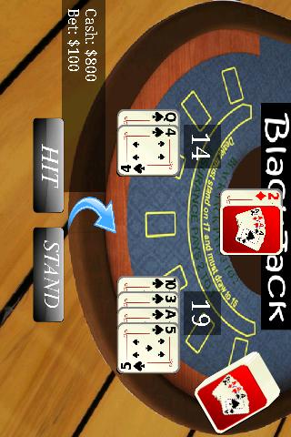 ブラックジャック21カジノ