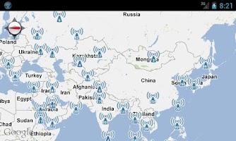 Screenshot of Hotspotting - Free WiFi Map