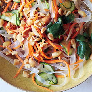 Bean Thread Noodles with Pickled Vegetables.