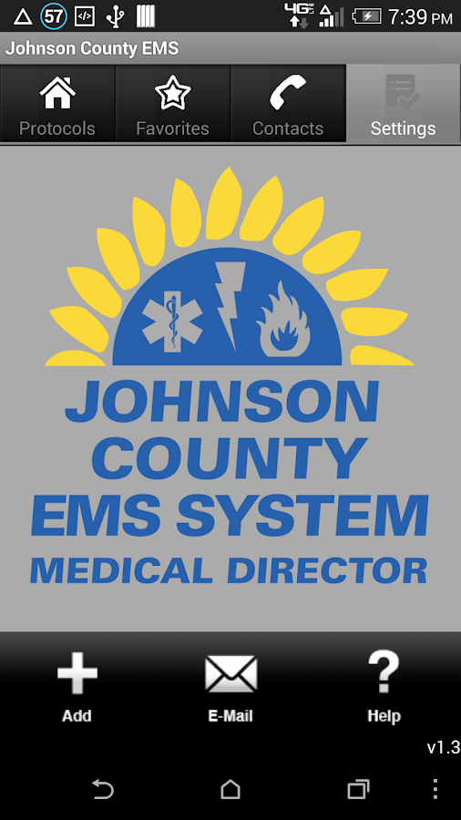 Johnson County EMS- screenshot