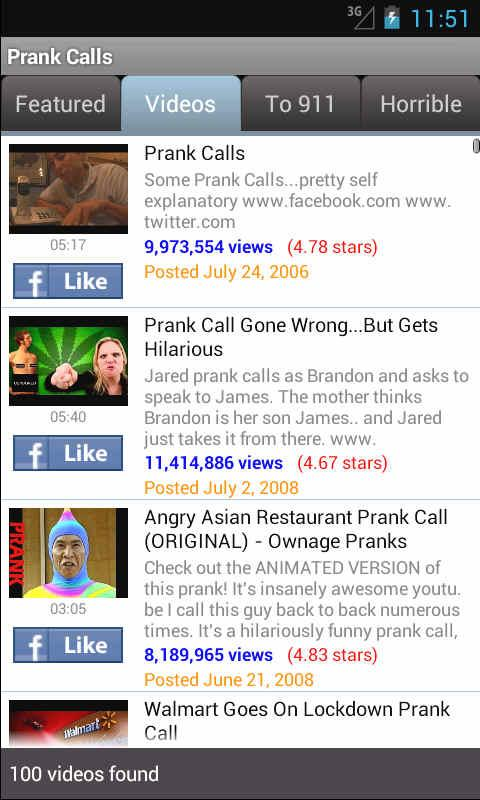 Funny Prank Calls - screenshot