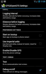 GPS2OpenGTS_Pro - screenshot thumbnail