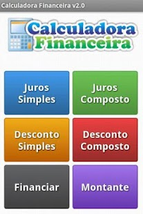 Calculadora Financeira- screenshot thumbnail