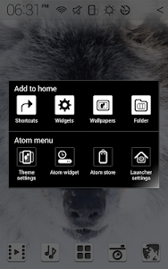 The Wolf Atom theme screenshot 7