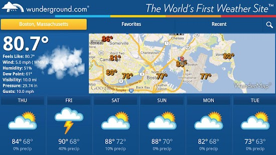Weather Underground TV - screenshot thumbnail