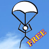 Adventure Stickman Fly In Sky