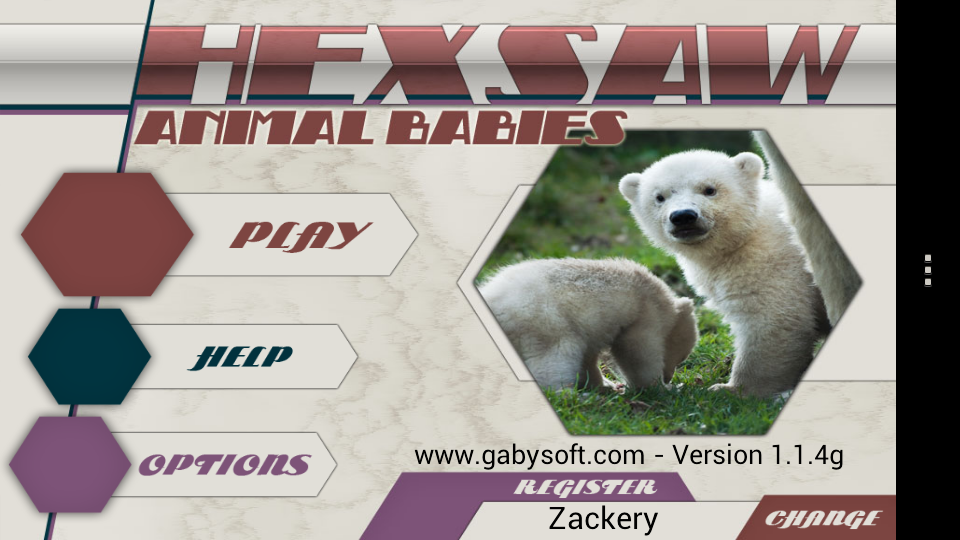 HexSaw - Animal Babies- screenshot