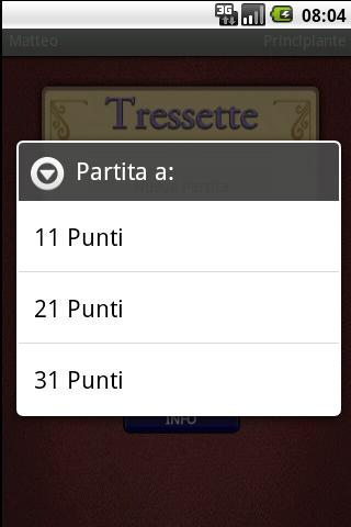 AssoPigliaTutto e Scopa - screenshot