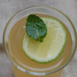 Apple-Mint-Lime cooler.