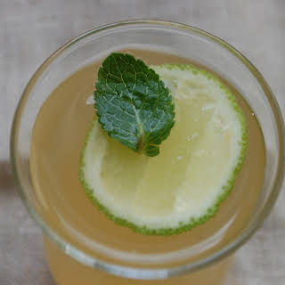 Apple-Mint-Lime cooler.
