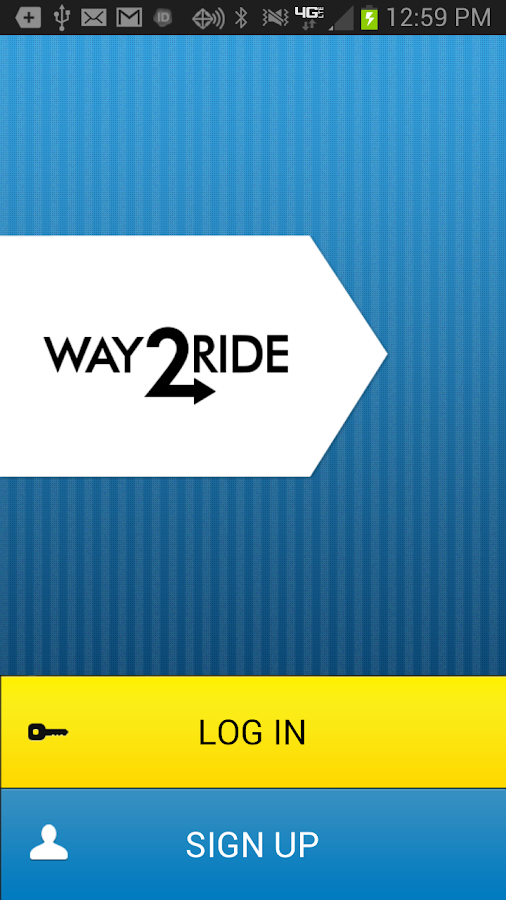 Way2ride - screenshot