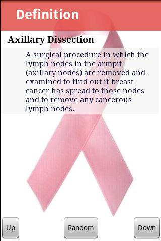 Breast Cancer Glossary Pro- screenshot