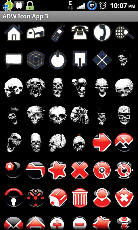 Icon App 3 ADW/OH/DVR/CP - screenshot