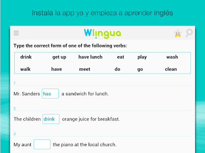 Aprender inglés con Wlingua for PC-Windows 7,8,10 and Mac apk screenshot 14
