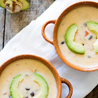 Creamy Black Bean Soup .