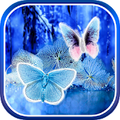 Abstract Butterflies Wallpaper