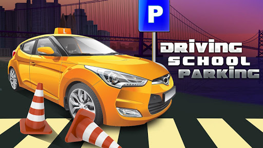 Driving School Parking Test 3D