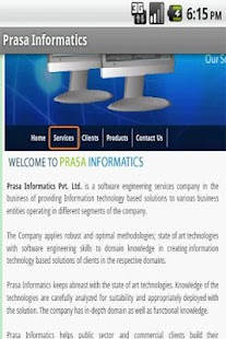 Prasa Informatics - screenshot thumbnail