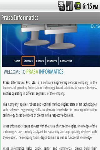 Prasa Informatics - screenshot