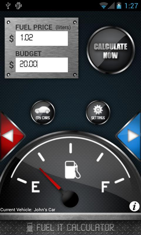 Fuel It- screenshot