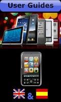 Screenshot of Smartphone User Guides