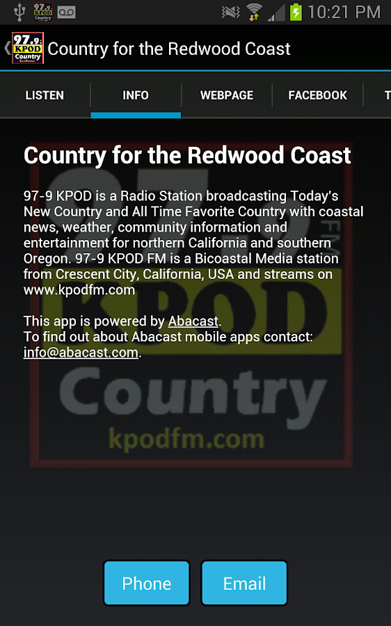 Country for the Redwood Coast- screenshot